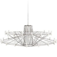 Люстра Coppelia Small D100 Nickel в стиле Moooi