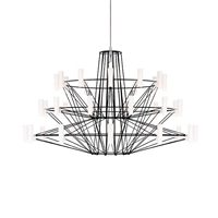 Люстра Coppelia Small D68 Black в стиле Moooi