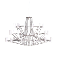 Люстра Coppelia Small D68 Nickel в стиле Moooi