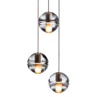 Люстра 14.3 Three Pendant Chandelier в стиле Bocci Omer Arbel
