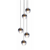 Люстра 14.5 Five Pendant Chandelier в стиле Bocci Omer Arbel