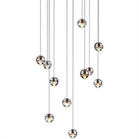 Люстра 14.11 Square Pendant Chandelier в стиле Bocci Omer Arbel