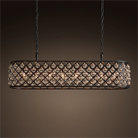Люстра Spencer Rectangular Hanging Chandelier 120
