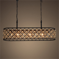 Люстра Spencer Rectangular Hanging Chandelier 100