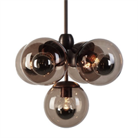 Люстра Modo Chandelier 5 Globes в стиле  Roll & Hill
