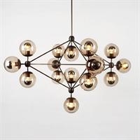 Люстра Modo Chandelier 15 Globes в стиле Roll & Hill
