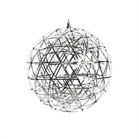 Люстра Raimond Sphere D43 Chrome в стиле Moooi