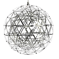 Люстра Raimond Sphere D89 Chrome в стиле Moooi