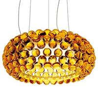 Люстра подвесная Caboche Gold D50 в стиле Foscarini Patricia Urquiola