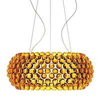Люстра подвесная Caboche Gold D65 в стиле Foscarini Patricia Urquiola