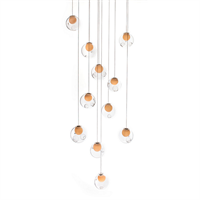 Люстра  28.11 Square Pendant Chandelier в стиле Bocci Omer Arbel