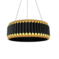Люстра подвесная Galliano D80 Black