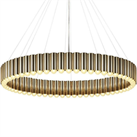 Люстра Carousel XL Gold в стиле Lee Broоm
