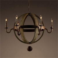 Люстра Loft Wine Barrel Sphere Chandelier