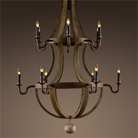 Люстра Loft Wine Barrel Hanging Chandelier 18