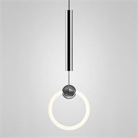 Светильник Ring Light Chrome by Lee Broom