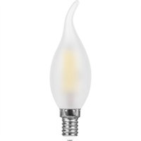 Лампа светодиодная Feron LB-714 Свеча на ветру E14 11W 2700K
