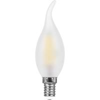 Лампа светодиодная Feron LB-714 Свеча на ветру E14 11W 4000K