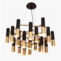 Люстра Ike 19 Lamp Черный + Золотой