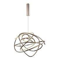 Светильник подвесной Saga Copper D57