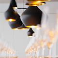Cветильник Beat Light Stout на кухне в стиле лофт