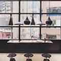Светильник для загородного дома в стиле лофт Том Диксон черный