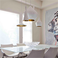 Cветильник Beat Light Stout  Том Диксон белый в дизайн проекте