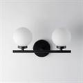 Бра Bubble Stik 2 плафона черный каркас
