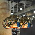 светильник в виде бронзового шара Copper Bronze Shade by Tom Dixon D20