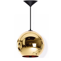 Светильник бронзовый Copper Bronze Shade Tom Dixon D40 в интерьере
