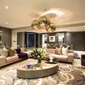 Светильник Copper Bronze Shade Том Диксон D40 в дизайн проекте гостиной