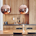 Copper Shade by Tom Dixon D45 светильник подвесной в дизайне кухни