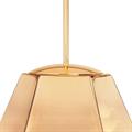 Светильник одиночный золотой на кухню Том Диксон