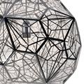 Светильник кружевной шар из металла D50
