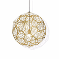 Светильник Etch Web Gold by Tom Dixon D90