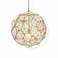 Светильник Etch Web Gold by Tom Dixon D100