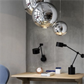 Светильник Mirror Ball by Tom Dixon D15 в интерьере