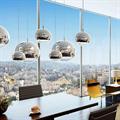 Светильник Mirror Ball  Tom Dixon D15 в дизайн проекте офиса