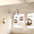 Светильник подвесной шар серебро Том Диксон  D35