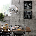 Светильник над столом круглый Mirror Ball Том Диксон D50