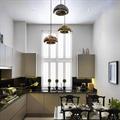 Светильник золотой Void  Tom Dixon для кухни