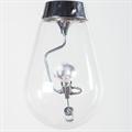 Светильник Blow прозрачный плафон и лампочка внутри