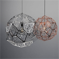 Светильник Etch Web  Tom Dixon плетеный шар