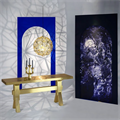 Светильник Etch Web  Tom Dixon плетеный металлический шар