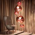 Melt Copper  Tom Dixon светильник подвесной красный шар