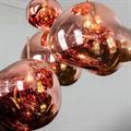 Melt  Tom Dixon светильник подвесной медный расплавленный шар