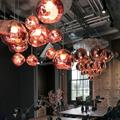 Melt Copper  Tom Dixon светильник подвесной в интерьере