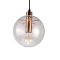 Светильник шар прозрачный медное основание Селен Sandra Lindner D35