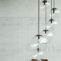 Светильник с прозрачным плафоном Selene Sandra Lindner D15 черный
