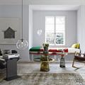 Светильник Selene by Sandra Lindner D25 в гостиной